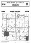 Map Image 008, Carroll County 2002 Published by Farm and Home Publishers, LTD