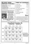 Table of Contents, Crawford County 2001 Published by Farm and Home Publishers, LTD