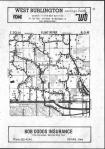 Flint River, Union T70N-R3W, Des Moines County 1982 Published by Directory Service Company