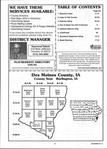 Table of Contents, Des Moines County 2000