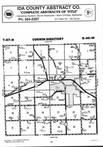 Map Image 017, Ida County 1996