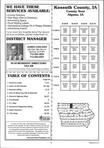 Table of Contents, Kossuth County 2002