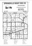 Brown T84N-R5W, Linn County 1980 Published by Directory Service Company