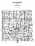 Index Map, Mahaska County 1996 - 1997