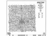 Index Map 1, Mahaska County 2007 - 2008