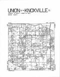 Knoxville, Union, Red Rock T76N-R20W, Marion County 2007 - 2008