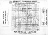 Index Map, Marshall County 1955