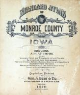 Title Page, Monroe County 1919