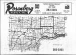 Index Map, Muscatine County 1981