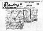 Index Map, Muscatine County 1982 Published by Directory Service Company