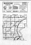 Fruitland T76N-R3W, Muscatine County 1982 Published by Directory Service Company