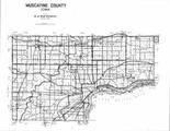 Index Map, Muscatine County 1996 - 1997
