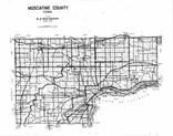 Index Map, Muscatine County 2001 - 2002