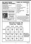 Table of Contents, Osceola County 2000