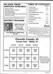 Table of Contents, Osceola County 2001