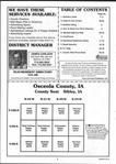 Table of Contents, Osceola County 2002