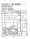 Cloverhills, Valley, Walnut, Des Moines, Bloomfiled T78N-R25W, Polk County 2003 - 2004