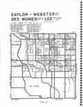 Saylor, Webster, Des Moines, Lee T79N-R24W, Polk County 2005 - 2006