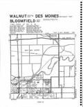 Cloverhills, Valley, Walnut, Des Moines, Bloomfiled T78N-R25W, Polk County 2005 - 2006