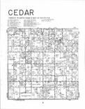 Cedar T70N-R8W, Van Buren County 1982 Published by R. C. Booth Enterprises
