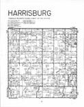 Harrisburg T69N-R8W, Van Buren County 1982 Published by R. C. Booth Enterprises