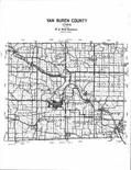 Index Map, Van Buren County 1994 - 1995