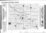 Index Map, Van Buren County 2000
