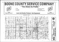 Index Map, Boone County 1977