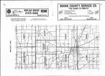 Index Map, Boone County 1983