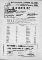 Index and Legend, De Kalb County 1965