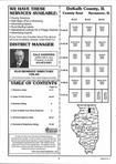 Index Map 1, DeKalb County 1999 Published by Farm and Home Publishers, LTD