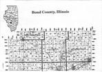 Bond County Index Map 1, Fayette and Bond Counties 1997