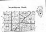 Fayette County Index Map 1, Fayette and Bond Counties 1997