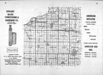 Index Map, Henry County 1964