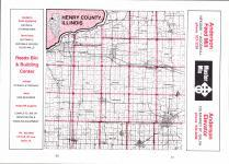 Index Map, Henry County 1975