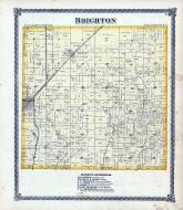 Brighton Township, Mile's Station, Macoupin County 1875