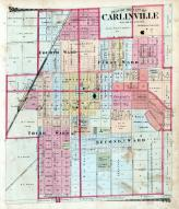 Carlinville City, Macoupin County 1875
