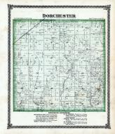 Dorchester Township, West Fork Creek, Cahokia Creek, Macoupin County 1875