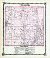Nilwood Township, Linn Grove Branch, Harris Creek, Macoupin County 1875