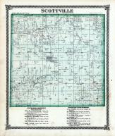 Scottville Township, Apple Creek, Panther Creek, Macoupin County 1875