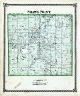 Shaws Point, Macoupin Creek, Macoupin County 1875