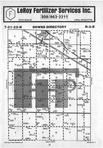 Map Image 001, McLean County 1985 Published by Farm and Home Publishers, LTD