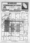 Map Image 036, McLean County 1985 Published by Farm and Home Publishers, LTD