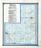 Dora Township, Dalton City, Lake City, Moultrie County 1875
