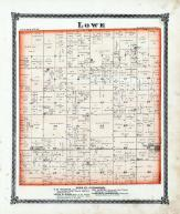 Lowe Township, Arther, Williamsburg, Moultrie County 1875