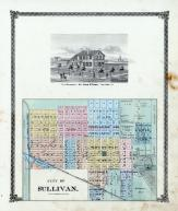 Sullivan City, Moultrie County 1875