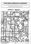 Map Image 006, Moultrie County 1995 Published by Farm and Home Publishers, LTD
