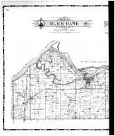 Black-Hawk, Coal Valley Township, Valley View Place - Left, Rock Island County 1905 Microfilm and Orig Mix