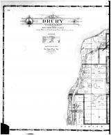 Drury Township - Left, Rock Island County 1905 Microfilm and Orig Mix
