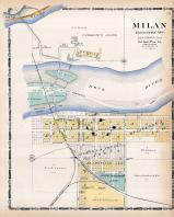 Milan, Rock Island County 1905 Microfilm and Orig Mix
